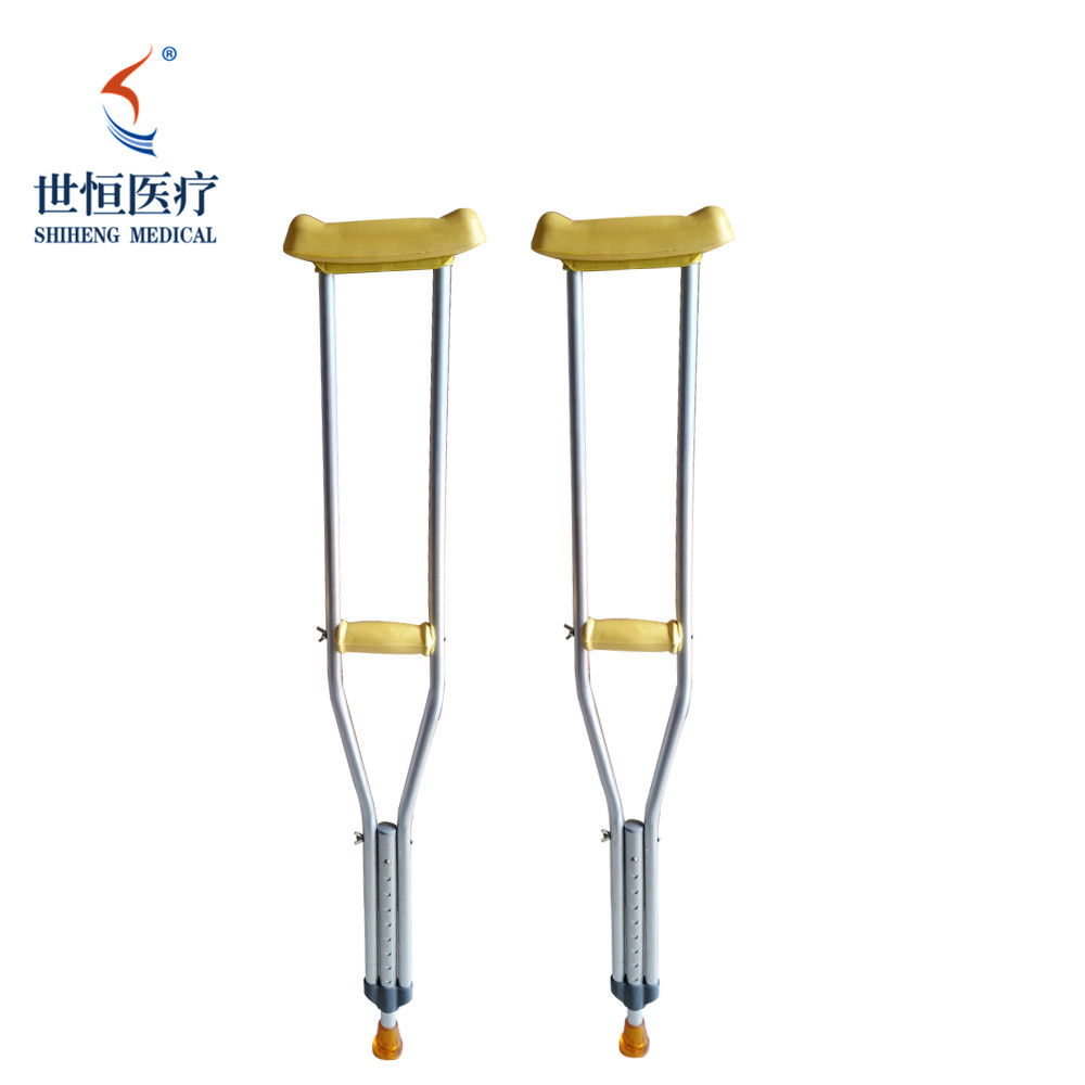 adjustable aluminum alloy crutch